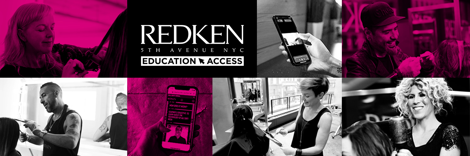 Redken Education and Access, a new way to learn